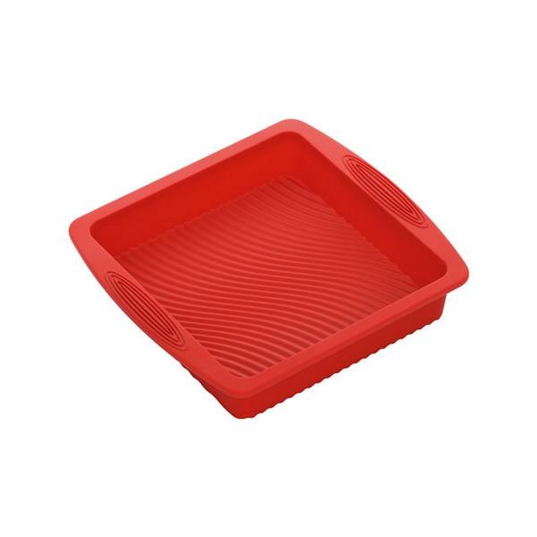 Силиконовая форма, квадратнаяNadoba производит высококачественные кухонные инструменты и аксессуары, что подтверждается длительным сроком гарантии. Хорошая форма для выпечки необходима в каждом доме. Вы останетесь довольны ее качеством и эргономичностью.<br>