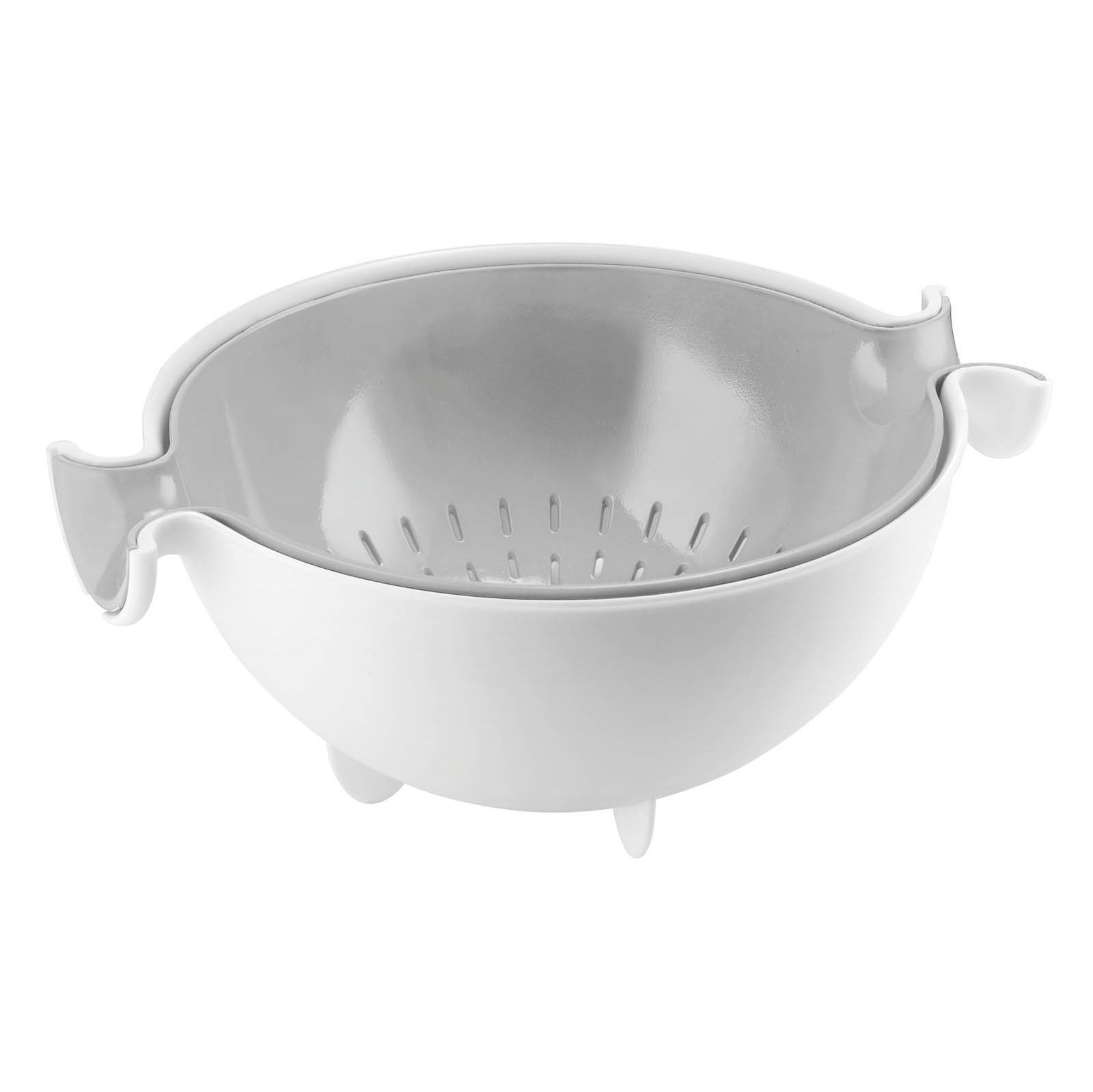 Набор для кухни (дуршлаг + чаша) MY KITCHENFratelli Guzzini производит пластиковую посуду и аксессуары для дома. Элегантный комплект из дуршлага и чаши - удобный предмет для кухни. Вам всегда будет удобно сливать лишнюю жидкость, не прибегая к помощи домочадцев.<br>