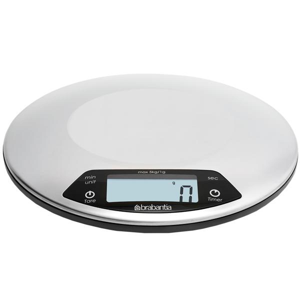 Цифровые кухонные весы Brabantia
