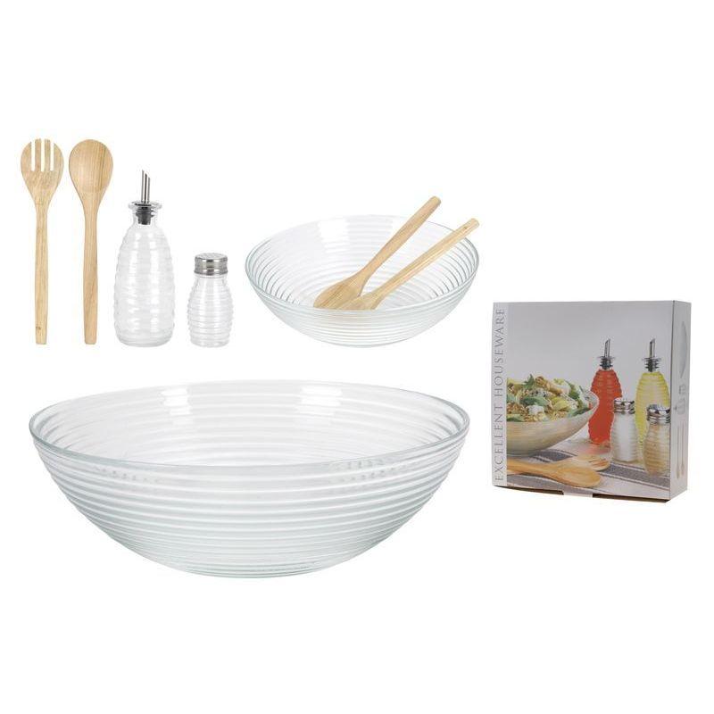 Купить Набор для салата из 7 предметов, Excellent Houseware