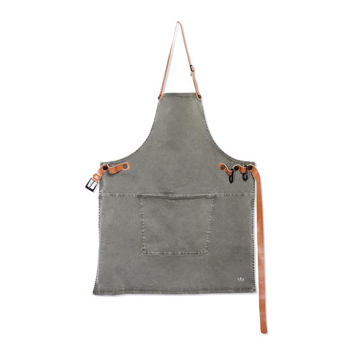Фартук с карманом Dutchdeluxes BBQ хлопок