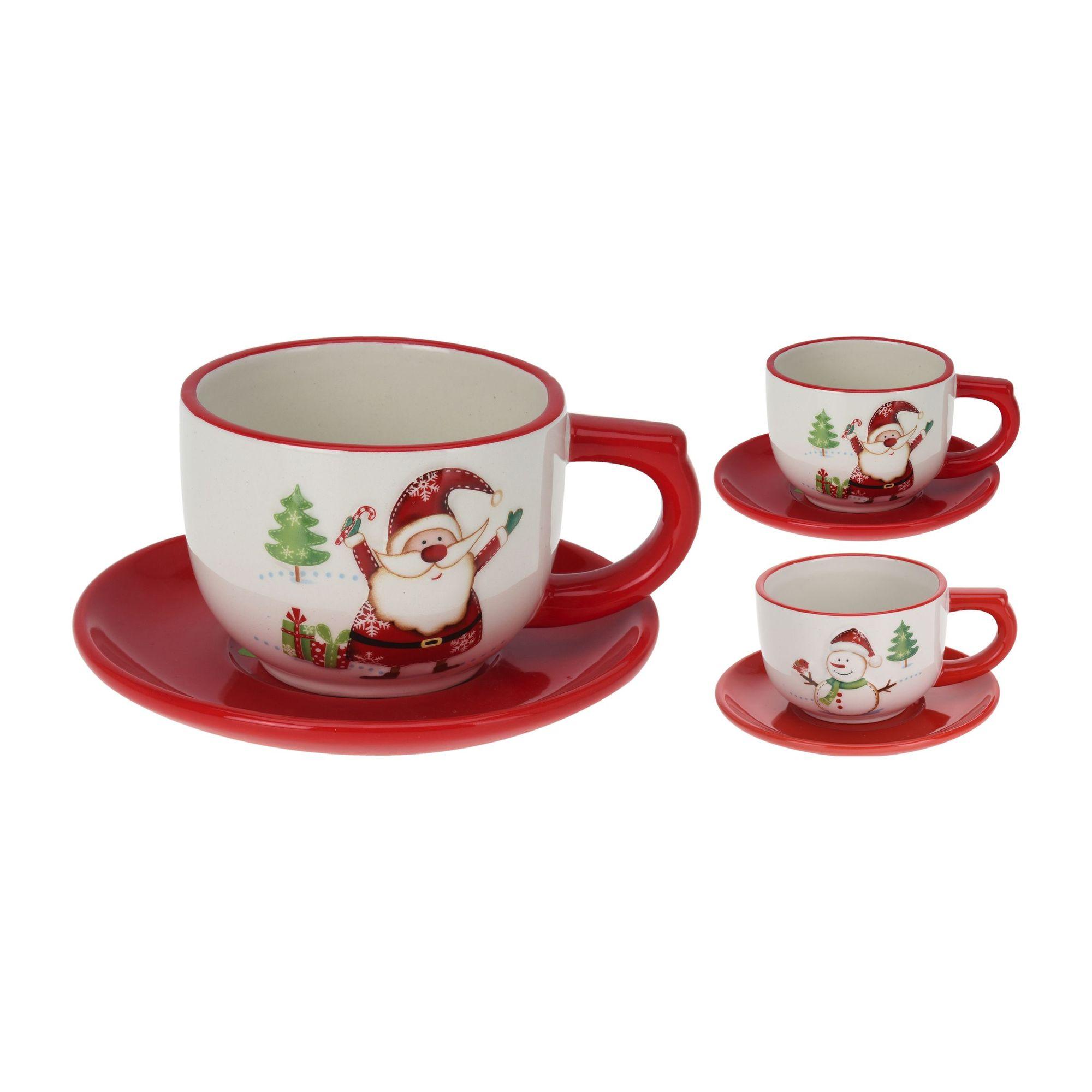 Пара чайная Санта и друзья в ассортименте<br>