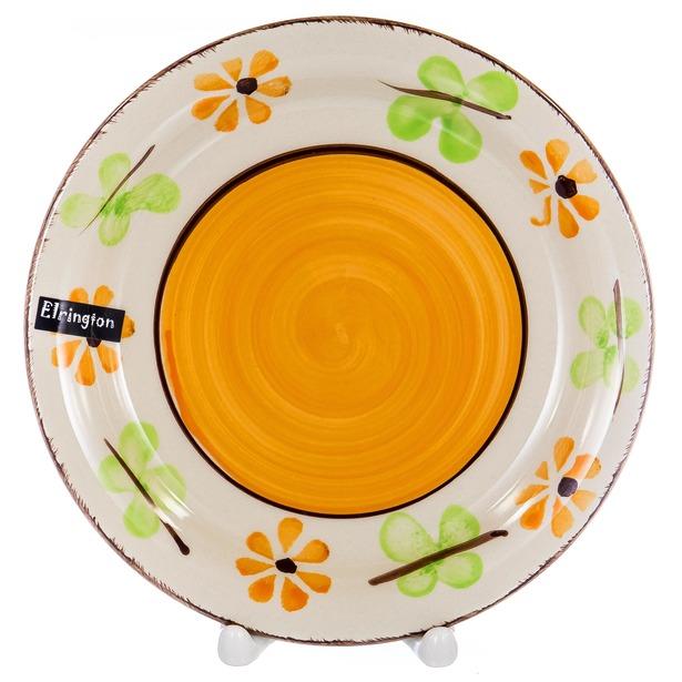 Тарелка обеденная Elrington Цветы, 27 см