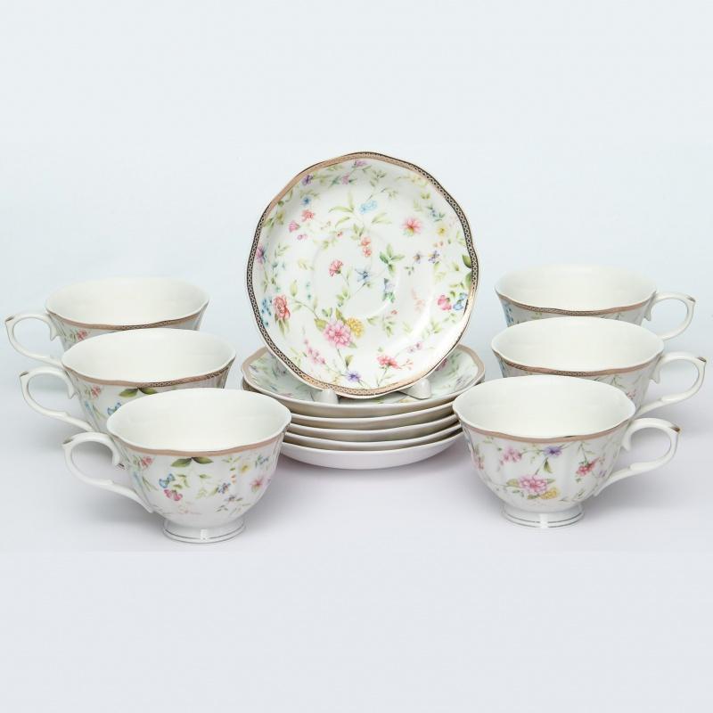 "Набор пар чайных 12 предметов Balsford "",Теодора"", фарфор"