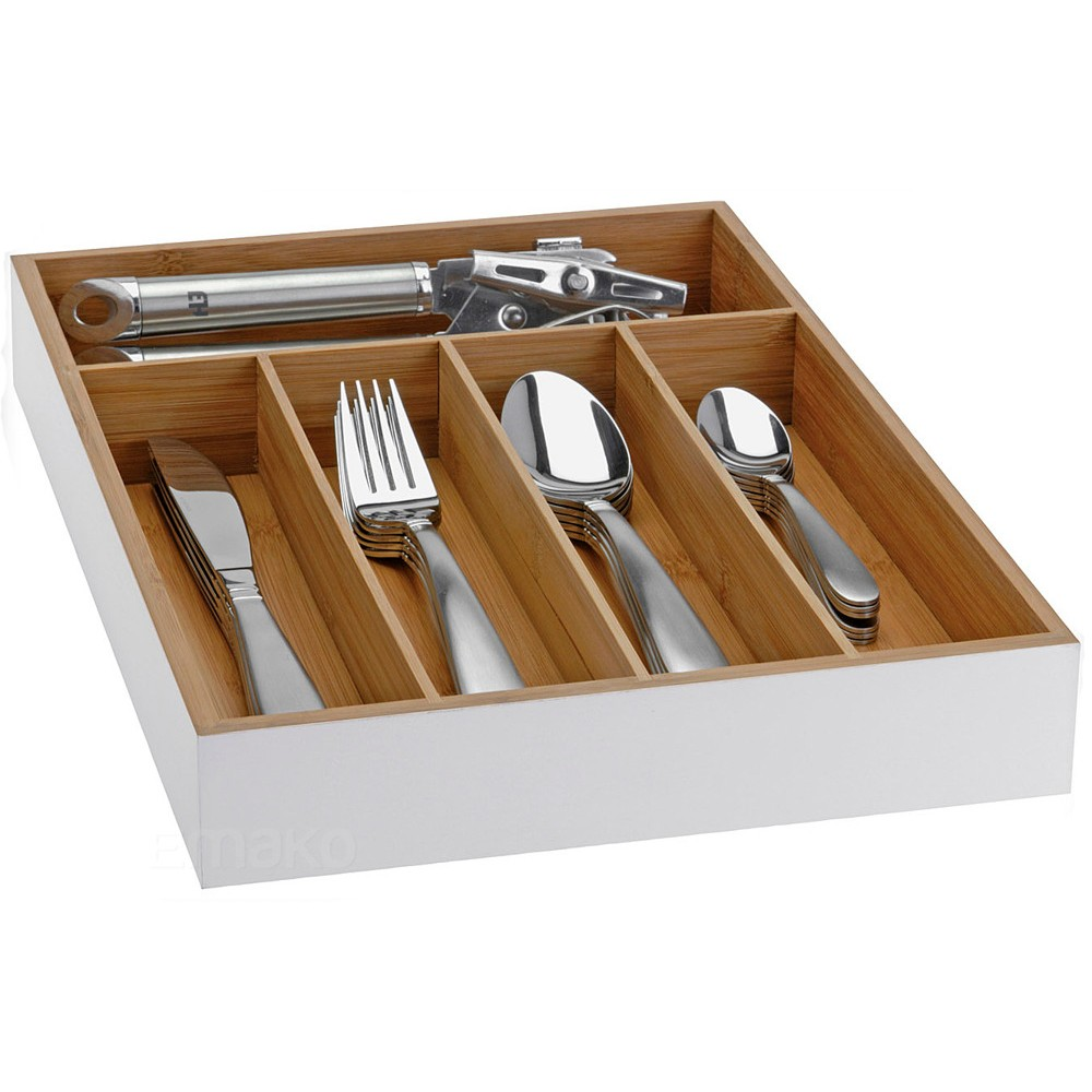 Ящик д/столовых приборов 35*26*5 см бамбукЯщик для столовых приборов сделан из высокачественного натурального сырья бамбука. Вы можете заполнить ее столовыми приборами, при этом после мойки класть их не протирая полотенцем. Ящик организует ваше пространство в шкафу, поможет сохранить чистоту и порядок на вашей кухне.<br>