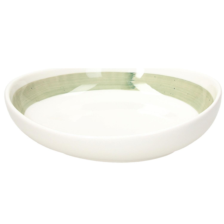 Тарелка суповая 21 см Tognana B-RUSH Green фото