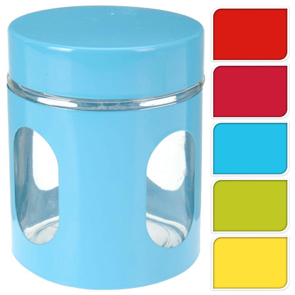 Банка д/хранения продуктов d10 h12 см в ассортиментебанка для хранения продуктов, диам. 10 см, выс. 12 см<br>