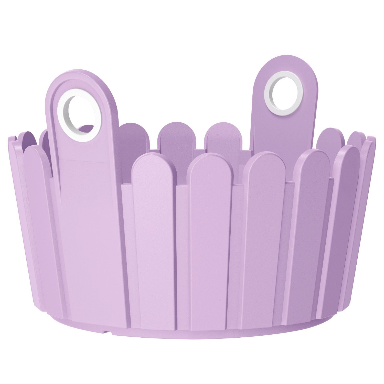 Кашпо LANDHAUS d30 см фиолетовое