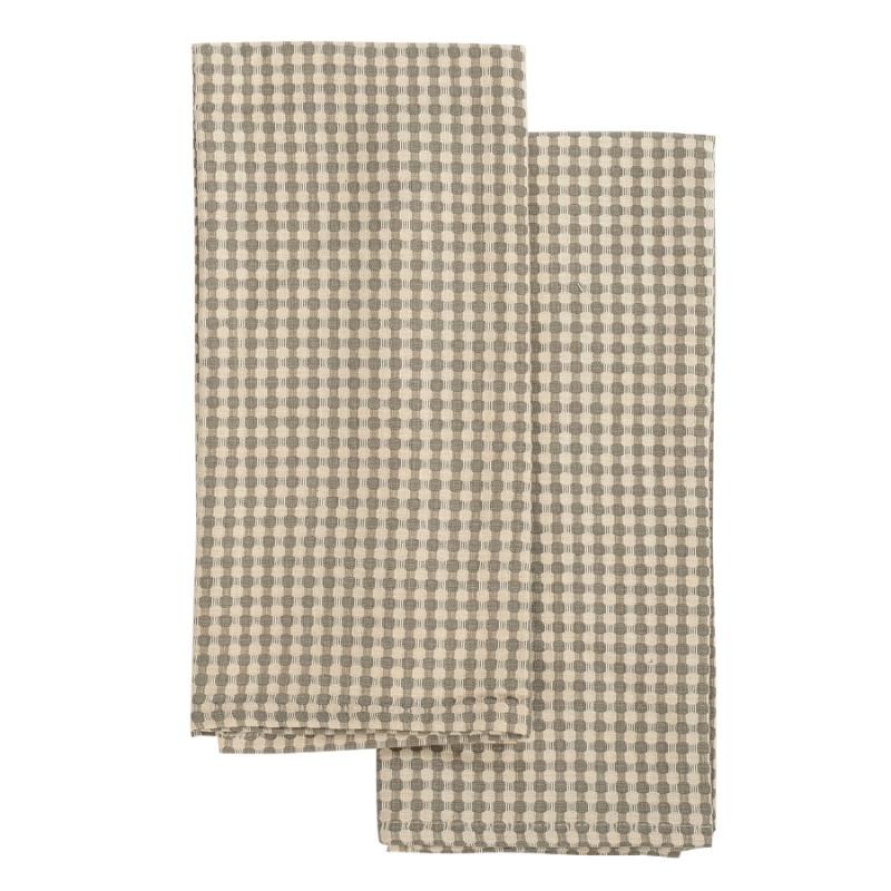 Набор вафельных полотенец из умягченного хлопка 2 шт. Tkano Essential 50х70 см