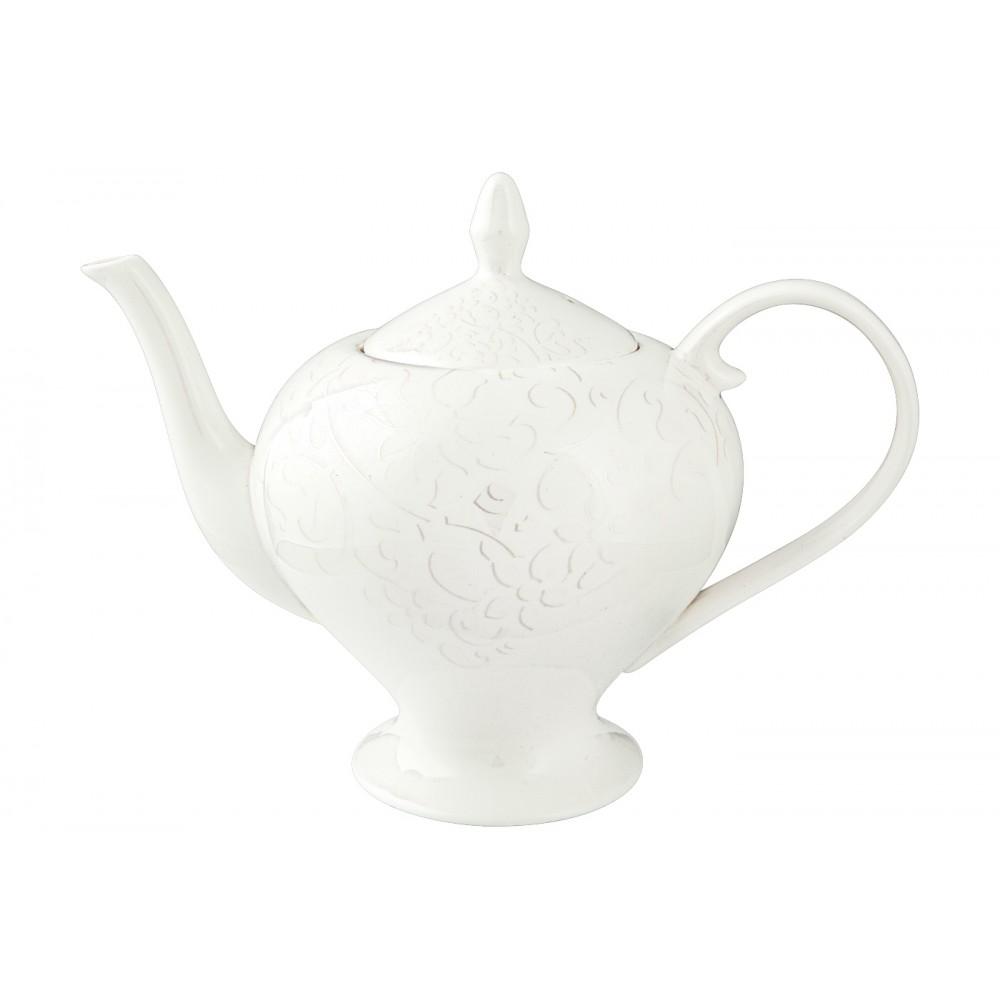 Сервиз чайный Облака - 15 предм. БелыйПроизводитель мирового уровня «Royal Aurel» - это сочетание королевских традиций, китайской рецептуры и современных тенденций дизайна, которые воплощены в эксклюзивных наборах фарфоровой посуды. Для производства используются прочный костяной фарфор и белая глина, за счет чего достигаются белизна и прозрачность. Чайный сервиз «Облака» является идеальным сочетанием простоты и изысканности. Белоснежный набор украшен легким воздушным орнаментом, а прозрачность фарфора подчеркивает его уникальность. Чаепитие может стать поистине королевским, а сервиз долгие годы будет служить предметом восхищения для Вас и Ваших гостей.<br>