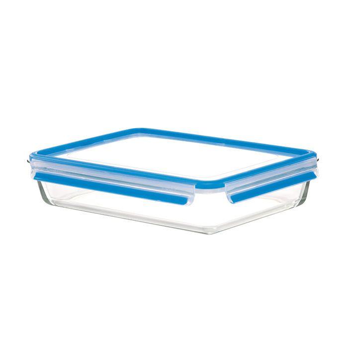 Контейнер прямоугольный 3 л. CLIP&amp;CLOSE GLASSEmsa производит красивую и качественную посуду и аксессуары для дома и дачи, создает каждый предмет продуманно и с особой любовью. Данный контейнер эргономичный, прекрасно выполняет свою функцию.<br>