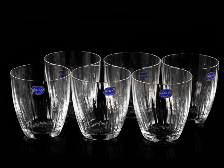 Набор стаканов для виски 6 шт 300 мл Bohemia Crystal Kate