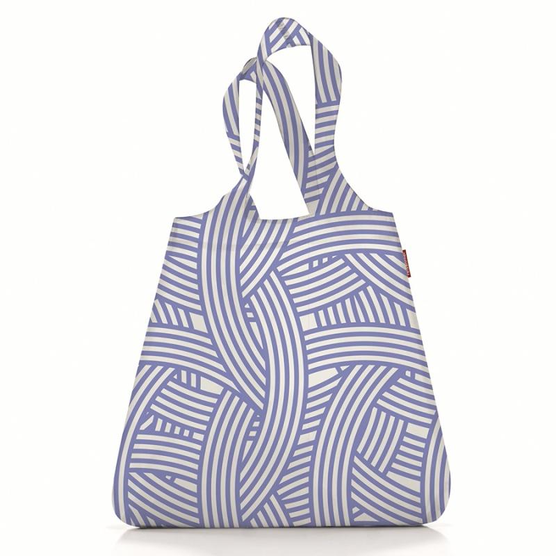 Сумка складная Reisenthel Shopper Mini maxi zebra blue
