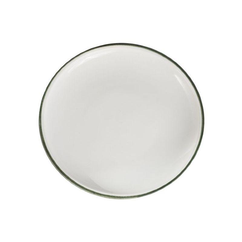 Тарелка десертная 17 см Эклипс Дымов Керамика.