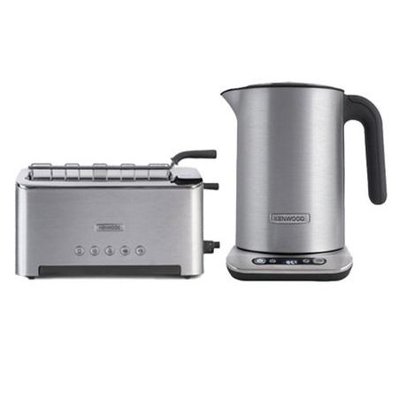 ПРОМО2: Чайник+тостер Persona 610Чайник и тостер Персона 610 знаменитого бренда Кенвуд станут отличным выбором для любой кухни. Они помогут сделать вашу жизнь комфортнее. Современный чайник Персона 610 обладает функцией установки нужной температуры воды. С его помощью вы получите возможность правильно заваривать различные сорта чая и по достоинству оцените их вкус. В комплекте с чайником вы получите первоклассный тостер с функцией размораживания, рассчитанный на два тоста. Он удобен в обращении, поскольку корпус не нагревается при работе.<br>