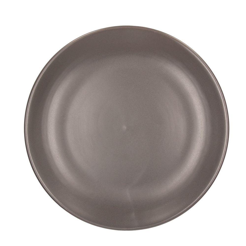 Тарелка обеденная 27 см RUSTICAL ANTRACITE MATTТарелка обеденная 27 см RUSTICAL ANTRACITE MATT<br>