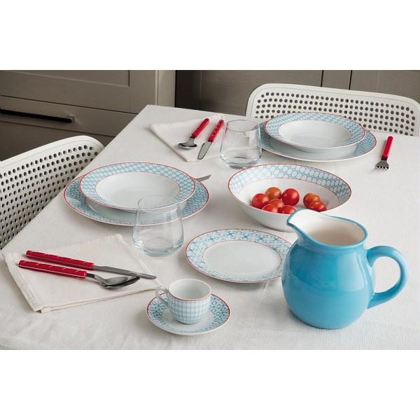 Тарелка десертная KUBIK AZTognana производит фарфоровую посуду. Главный девиз компании - качество и долговечность, соответственно, к производству каждого предмета компания подходит очень ответственно. Тарелка - один из самых полезных предметов на кухне.<br>