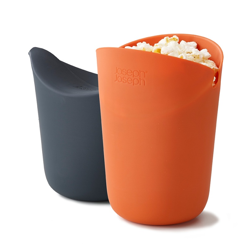 Набор стаканов для приготовления попкорна в микроволновой печи M-Cuisine