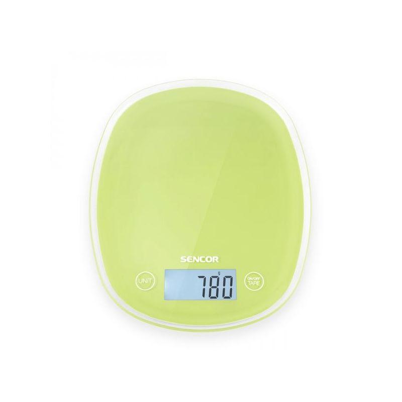 Весы кухонные электронные с подсветкой Sencor SKS 37GG
