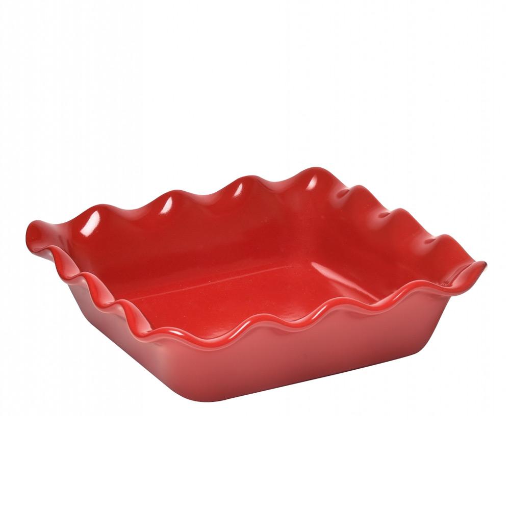 Форма для запекания, квадратнаяКерамическая форма для запекания издавна славилась своим качеством приготовления блюд. Она прекрасно держит температуру, обладает антипригарным эффектом. Блюда в ней получается просто незабываемыми на вкус.<br>