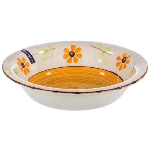 Тарелка суповая Elrington Цветы, 22 см