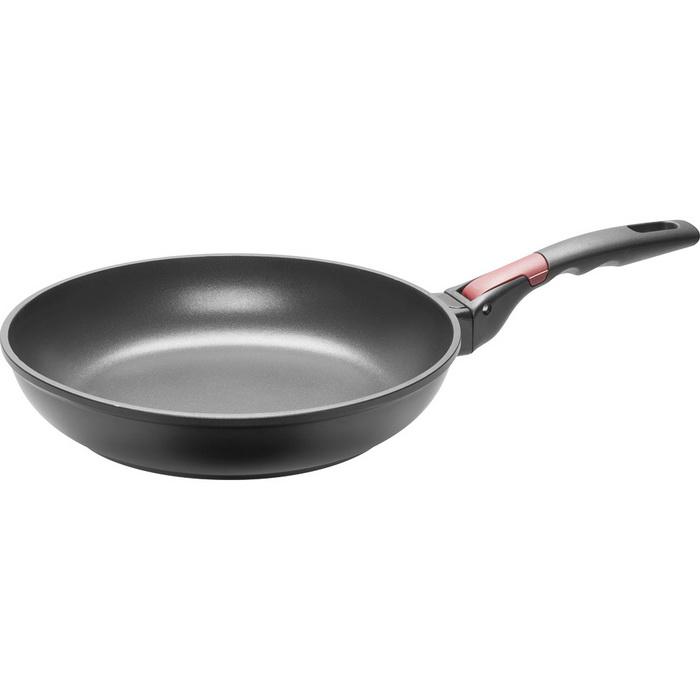 Сковорода с антипригарным покрытием и съёмной ручкойNadoba производит высококачественные кухонные инструменты и аксессуары, что подтверждается длительным сроком гарантии. Хорошая сковорода необходима в каждом доме. Вы останетесь довольны ее качеством и эргономичностью.<br>