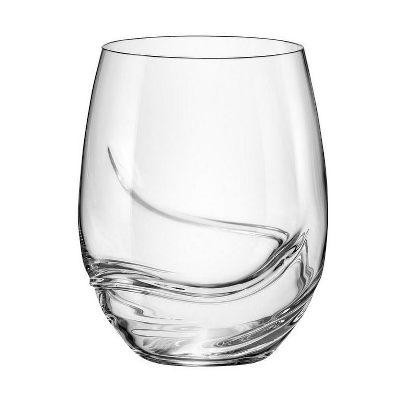 Набор стаканов для виски 2 шт 500 мл Turbulence Bohemia