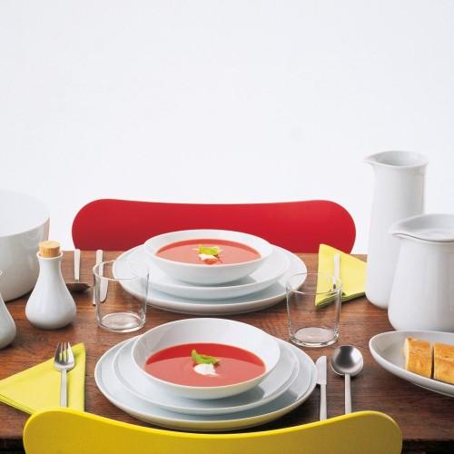 Набор чайный Ka-Ta-Set 12 предметовНабор сделан из высококачественной керамики. В набор входят шесть чайных пар. Стильный и лаконичный дизайн позволит этому набору отлично вписаться в любой кухонный интерьер.<br>