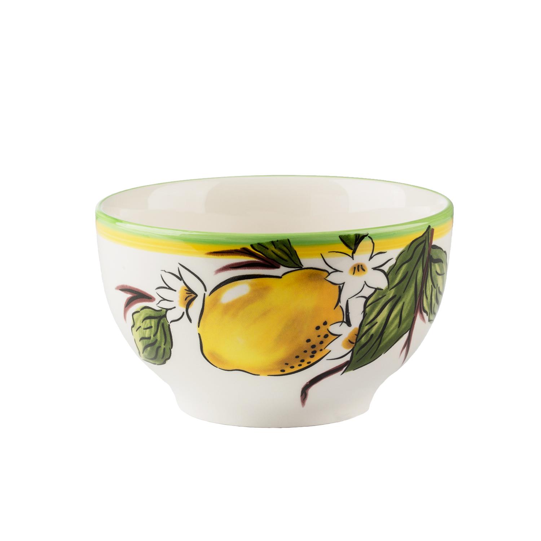 Набор пиал 4 шт ЛимоныНабор пиал от Magia Gusto украсит каждый стол и создаст неповторимый уют. Качественный, стильный и яркий, он станет вашим любимчиком.<br>