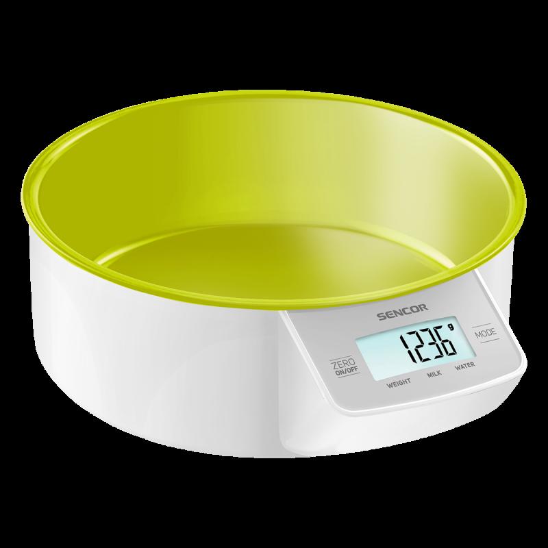 Весы кухонные Sencor салатовые