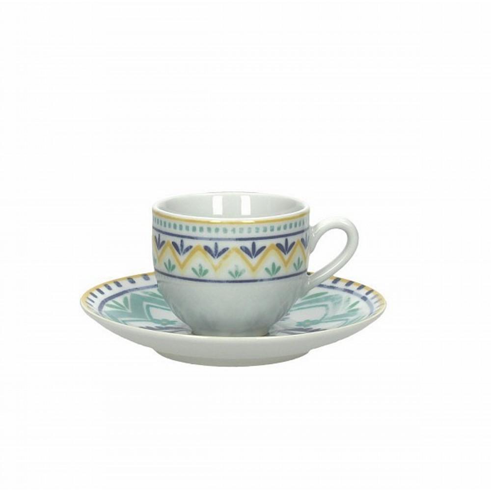 Набор чашек с блюдцами кофейные OLIMPIA ALHAMBRЧашка с блюдцем сделана из высококачественного фарфора. Благодаря ее оригинальному дизайну, она станет отличным подарком на любой праздник вашим друзья или близким. Коллекционеры посуды и настоящие ценители по достоинству оценят этот набор.<br>