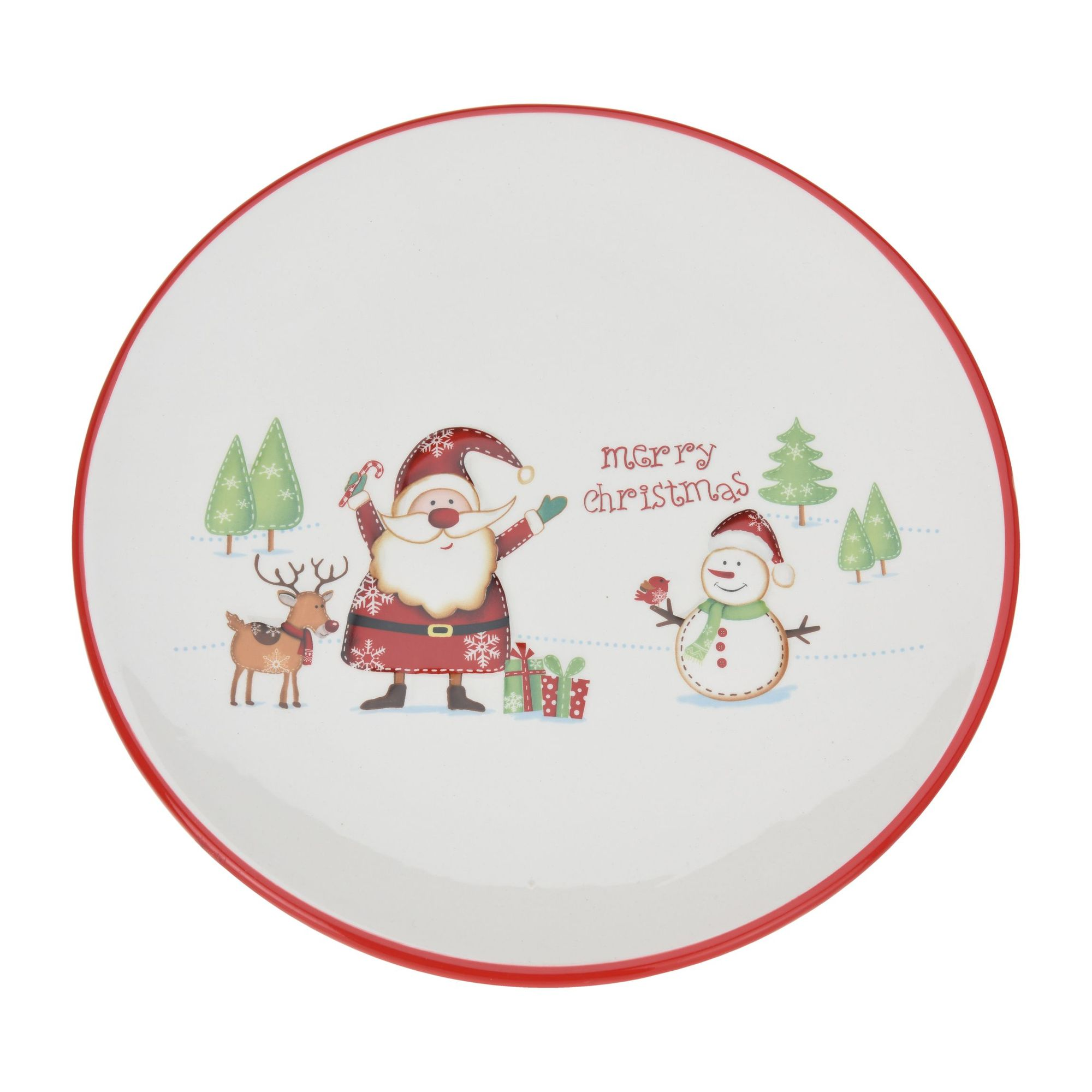 Тарелка Санта и друзья<br>