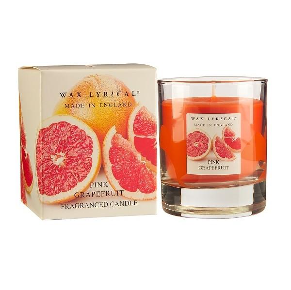 Свеча ароматическая ГрейпфрутWax Lyrical производит различные ароматы для дома. Свеча ароматическая украсит каждый дом и наполнит его восхитительным ароматом.<br>