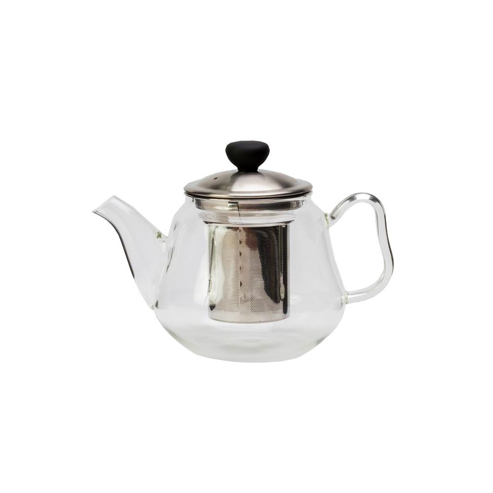 Чайник стеклянный «Да-Хун» , с фильтромЧайник имеет интересный современный дизайн и изготовлен из прозрачного стекла. Использовать такой чайник на кухне очень удобно. Благодаря прозрачному стеклу можно насладится цветом любимого чая. Также в чайнике тепло будет сохранятся дольше, что будет особенно приятно в холодное время года.<br>