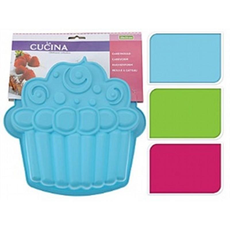 Силиконовая форма для кексовExcellent Houseware производит посуду и различные предметы для дома. Форма для выпекания - необходимый аксессуар современной хозяйки. С ее помощью можно испечь вкусное и красивое блюдо к чаю. Внимание! Выбирать цвет заранее не представляется возможным.<br>
