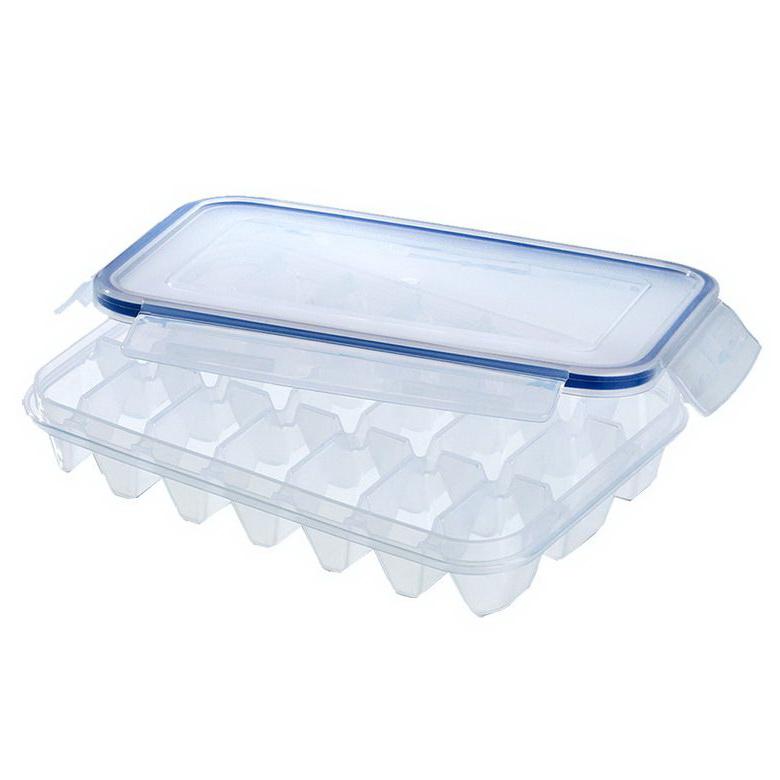 Форма для льда с крышкой CLIP&amp;CLOSEФорма для льда CLIP&amp;CLOSE с крышкой, 21 ячейка<br>