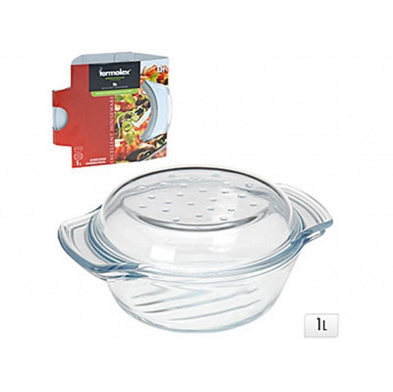 Форма для запекания с крышкойExcellent Houseware производит посуду и различные предметы для дома. Форма для запекания - необходимый аксессуар современной хозяйки. С ней можно приготовить вкусное блюдо в духовке.<br>