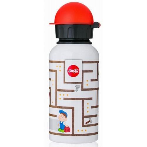 Фляжка для напитков KIDS Labyrinth BoyФляжка для напитка изготовлена из высококачественной нержавеющей стали. Она отлично подойдет для любого напитка. Ваш ребенок сможет взять свой напиток с собой на учебу или просто в дорогу. Она на 100% экологически безопасна.<br>
