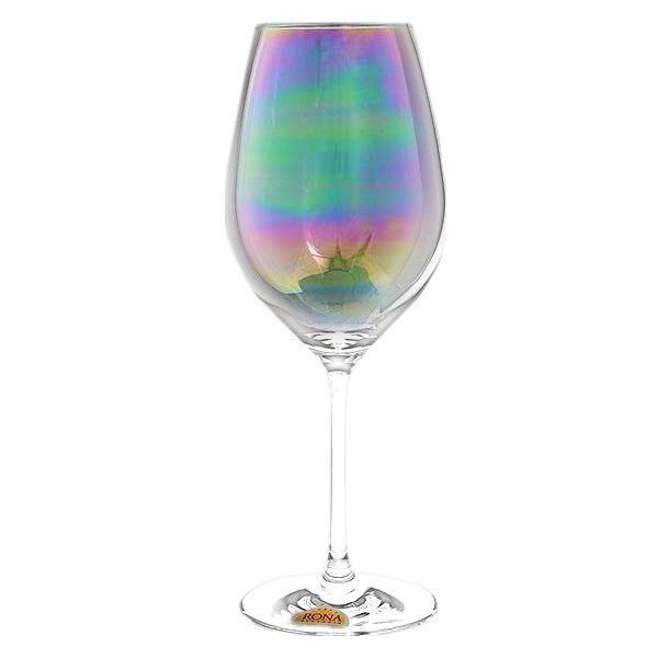 """Набор бокалов для вина 6 шт. 470 мл Rona """"Celebration"""" перламутр"""