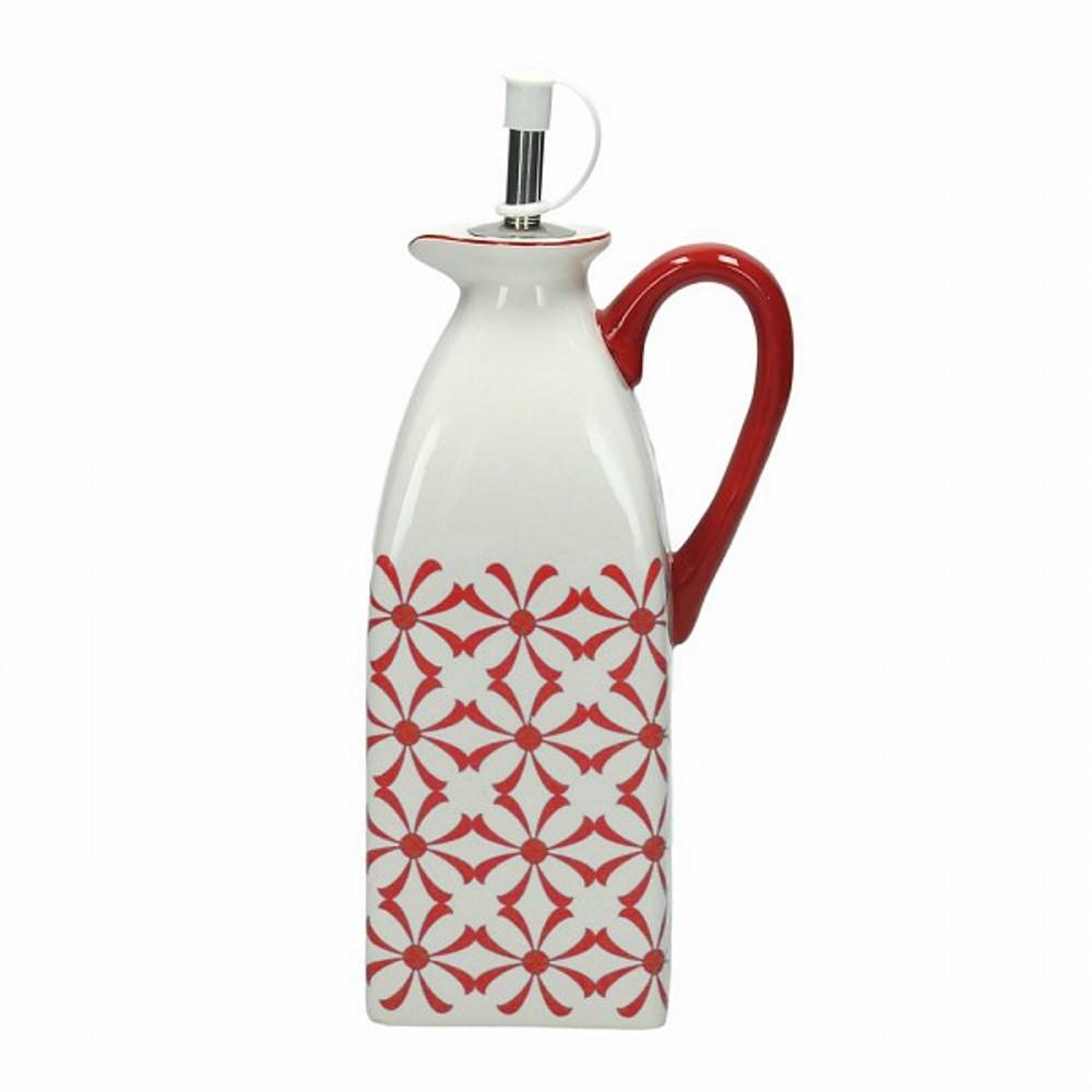 Емкость для масла/уксуса 0,5 л  DOLCE CA KUB ROЕмкость для масла и уксуса сделана из керамики выского качества. Итальянские производители позаботились не только о качестве изделия, но и о дизайне. Оригинальный дизайн и лаконичная форма позволит этому элементу посуды отлично вписаться в любой ваш кухонный интерьер.<br>