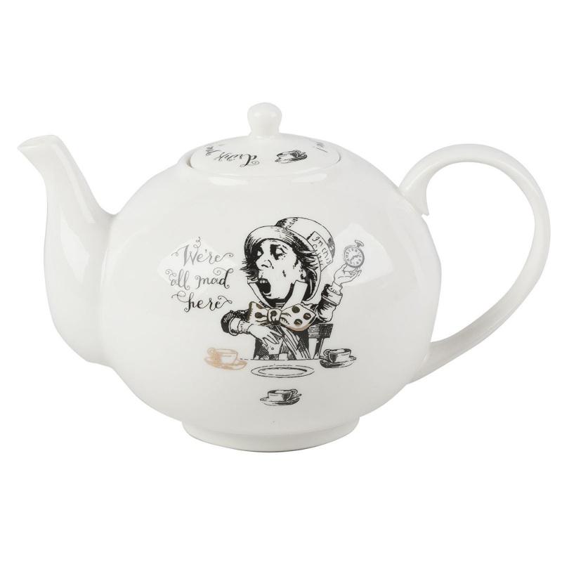 """Чайник 1100 мл """",Алиса в Стране чудес"""", Creative Tops"""