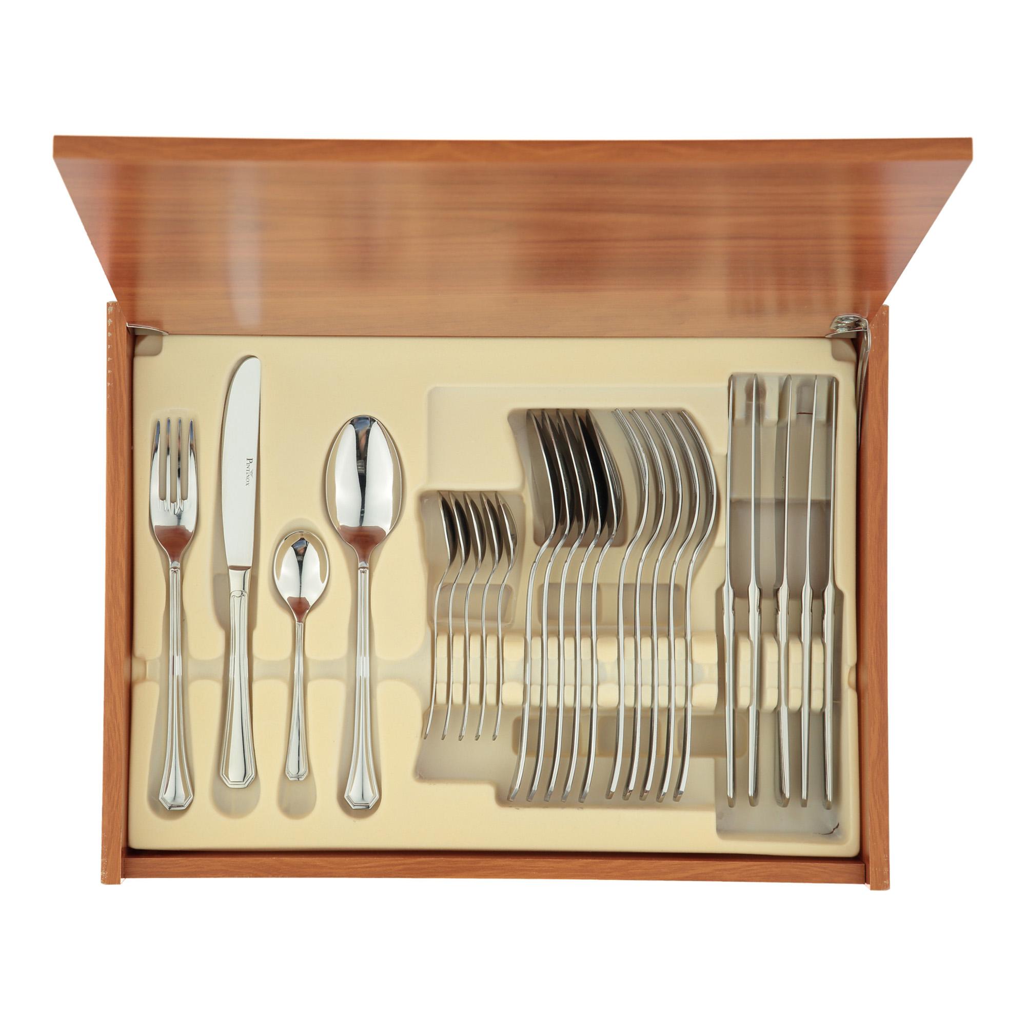 Купить Комплект столовых приборов AMERICA 24 предмета, Pintinox