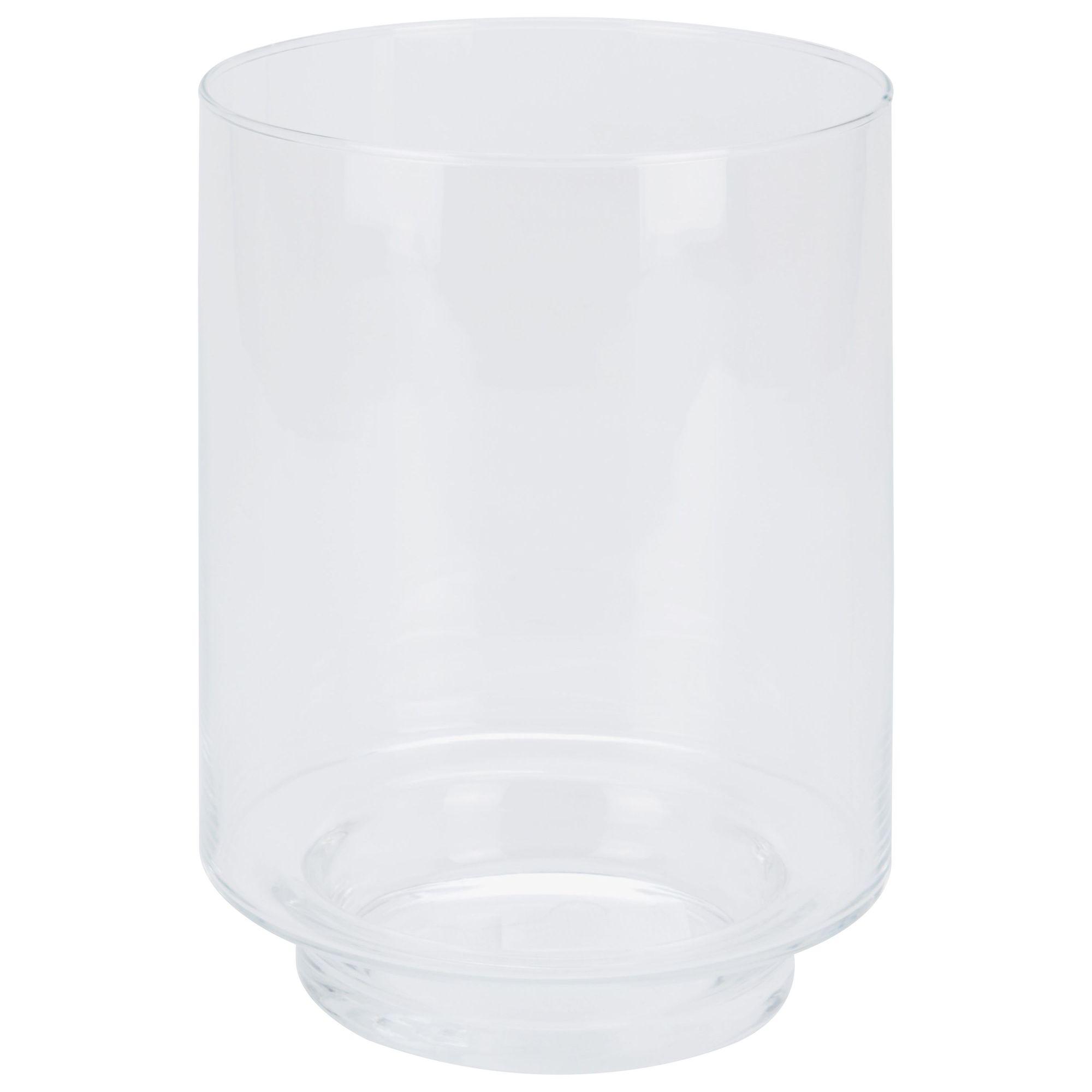 Ваза h25 см интерьерная стекло<br>