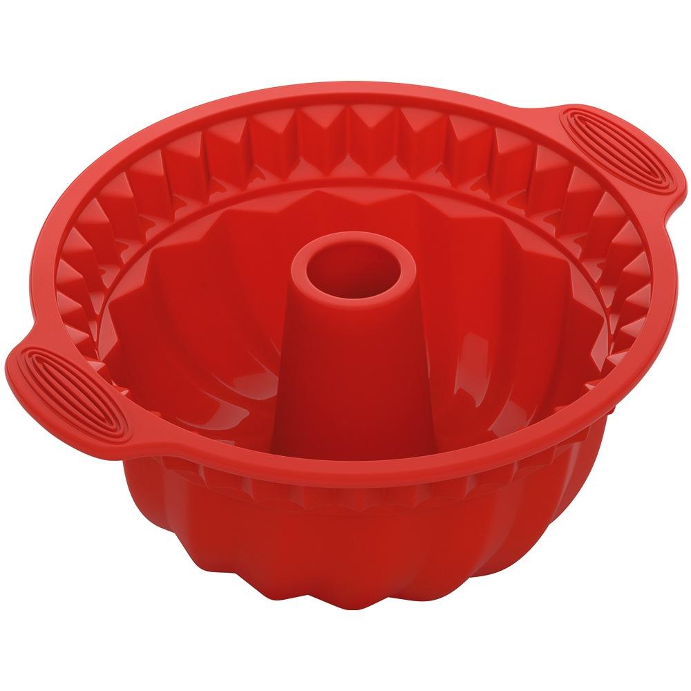 Форма для круглого кекса глубокаяNadoba производит высококачественные кухонные инструменты и аксессуары, что подтверждается длительным сроком гарантии. Хорошая форма для выпечки необходима в каждом доме. Вы останетесь довольны ее качеством и эргономичностью.<br>