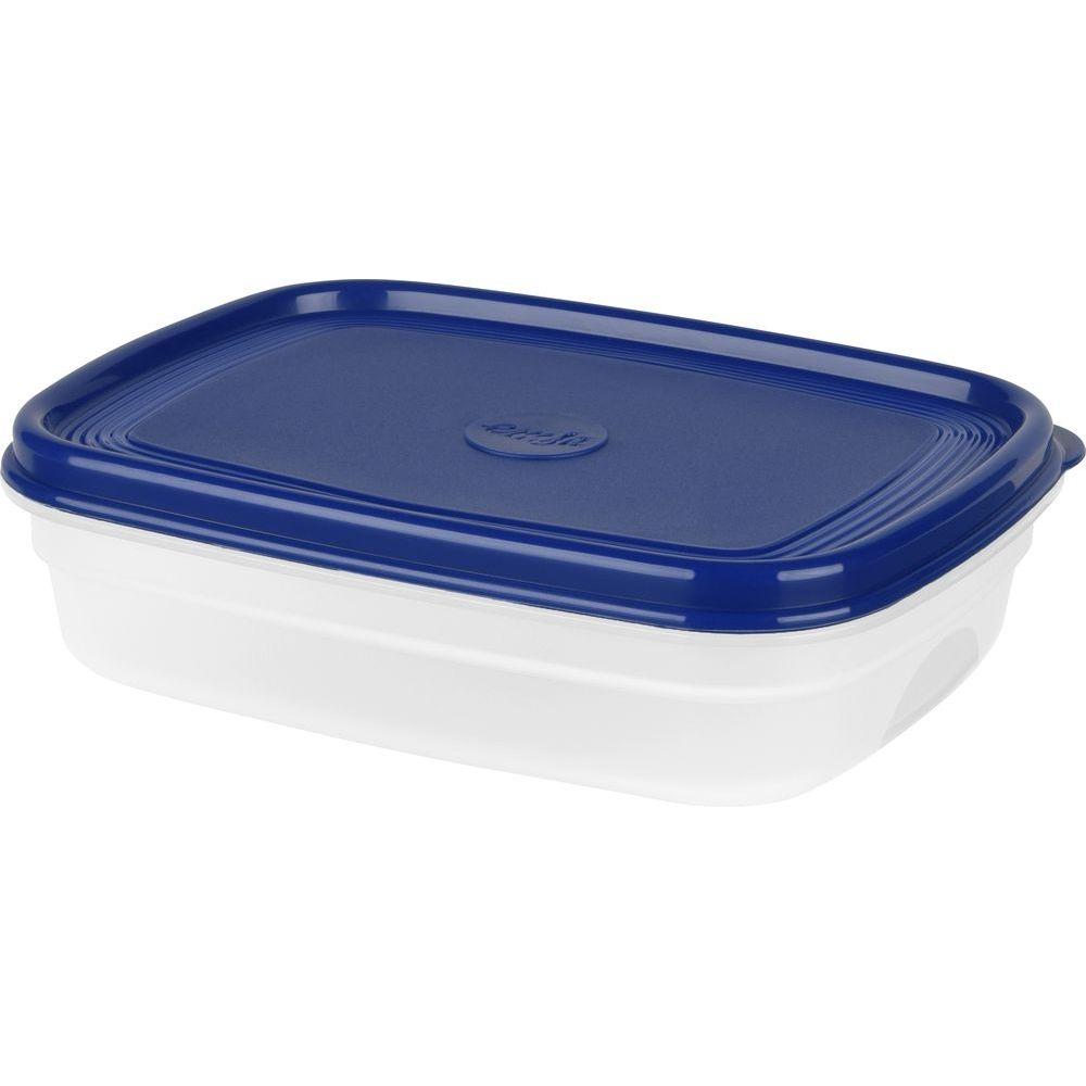 Контейнер SUPERLINE 1,0 л синяя крышка контейнер 1 1 л bekker контейнер 1 1 л