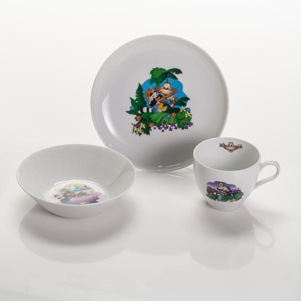 Набор для завтрака ЕнотПосуда от чешского бренда - превосходные эргономичные предметы, которые превзойдут все ваши представления о стильных и качественных вещах. Набор для завтрака - один из таких примеров, которым вы останетесь довольны.<br>