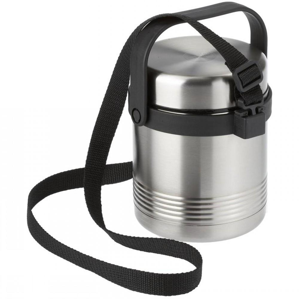 Термос для ланча SENATOR 1 0лТермос изготовлен из высококачественной нержавеющей стали. Он отлично держит температуру ваших блюд в течение длительного времени. Вы сможете взять свой полноценный обед с собой на работу или просто в дорогу и перекусить где бы вы не находились. Термос герметичен и на 100% экологически безопасен.<br>