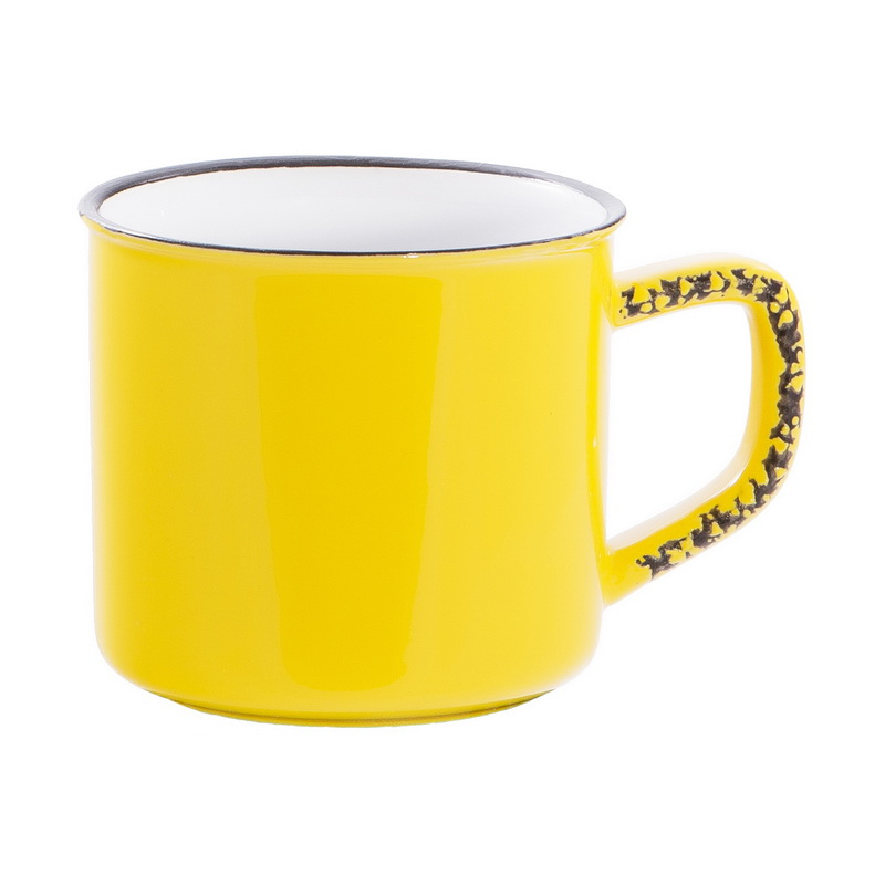 Купить Кружка 0, 5 НОСТАЛЬГИЯ желтый, Дымов Керамика