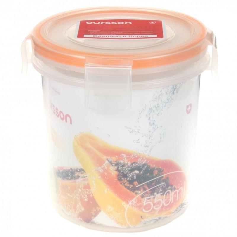 Контейнер пластиковый прозрачный 550 млПластиковый контейнер отлично подойдет для хранения, заморозки и переноски еды. Вы можете взять любимую еду с собой в дорогу. Благодаря герметичной крышке на защелках, ваши любимые блюда не прольются.<br>