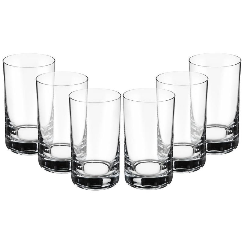 Набор стаканов для воды 6 шт 230 мл Bohemia Crystal Barline